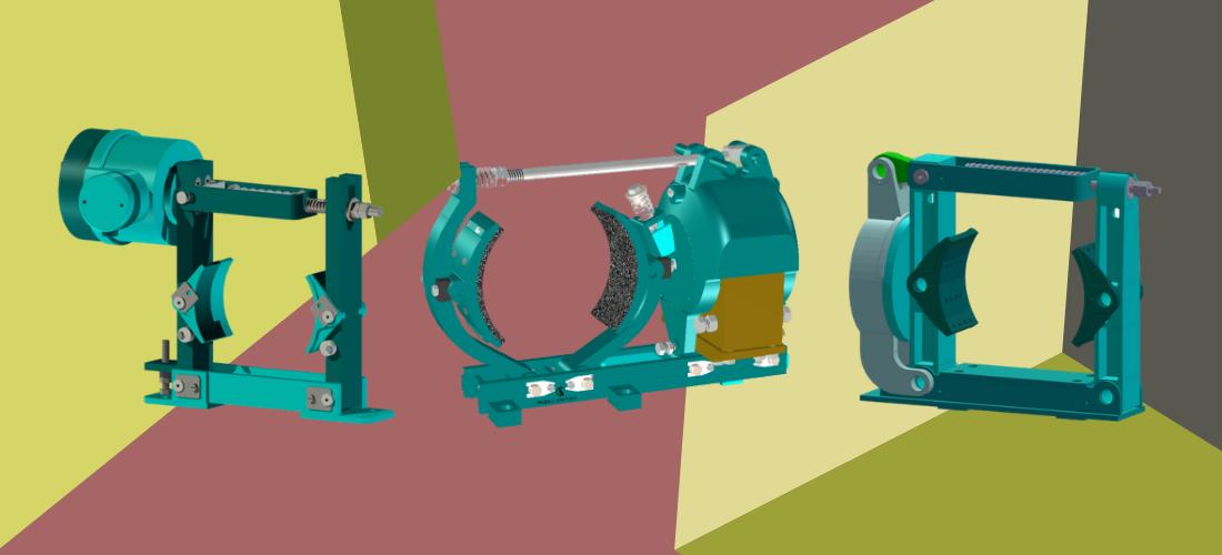 DC Electromagnetic Brakes DBM Series - Adjustment, Drawing & Operation