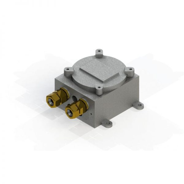 Flame Proof Junction Box - Zone I & 2, Gas Group 2A/2B