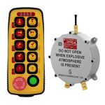 Flame Proof Sysca 10D Radio Remote Control System