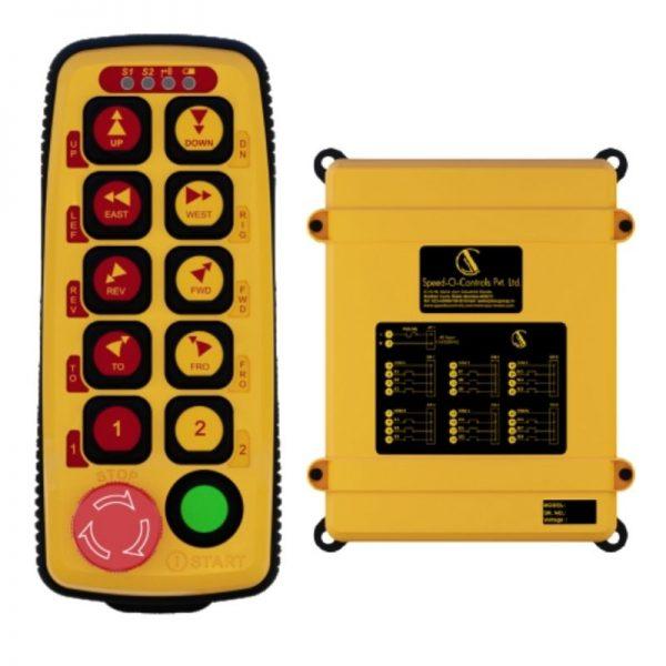 Sysca 10D Radio remote Control System