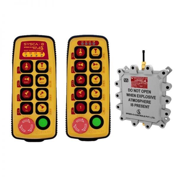 Flame Proof Sysca Radio Remote Control System - Gas Group IIA/IIB